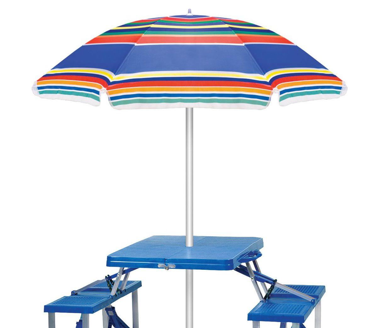 Picnic Time Outdoor Umbrella