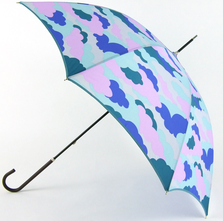 Colorful clouds Fashion straight rain umbrellas