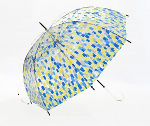 Fashion Transparent Bubble Custom Umbrellas