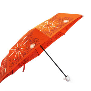 Indigenous designs fashion print umbrellas