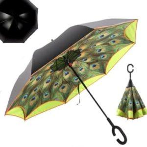 inverted safety umbrella