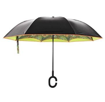 C shape handle umbrella