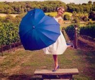Heart Wedding Umbrella (5)
