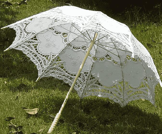 Lace-Umbrellas-Wholesale-Wedding-Umbrellas