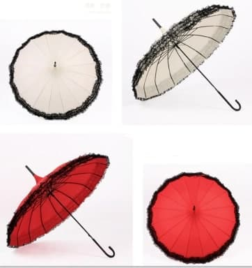 pagoda wedding umbrella