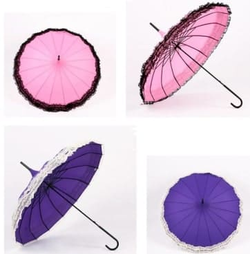 romantic umbrella