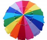 Rainbow Tilt Beach Market Umbrella (3)