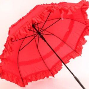 Ladies Sun proof Umbrella Parasol Lace Flowers Wedding Umbrella