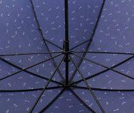21 Inches Super Thin Straight Auto Open Custom UV Umbrella