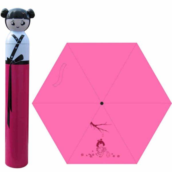 red color mini umbrella