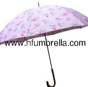 Umbrella colourfull printing straight umbrella