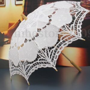 Handmade Lace Umbrella Wedding Parasol