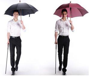 Crutch umbrella