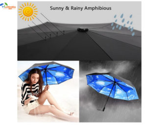 Compact Travel Umbrella