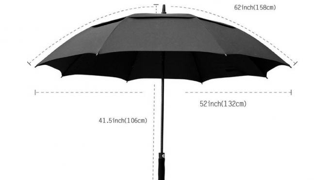 How to choose a golf umbrella