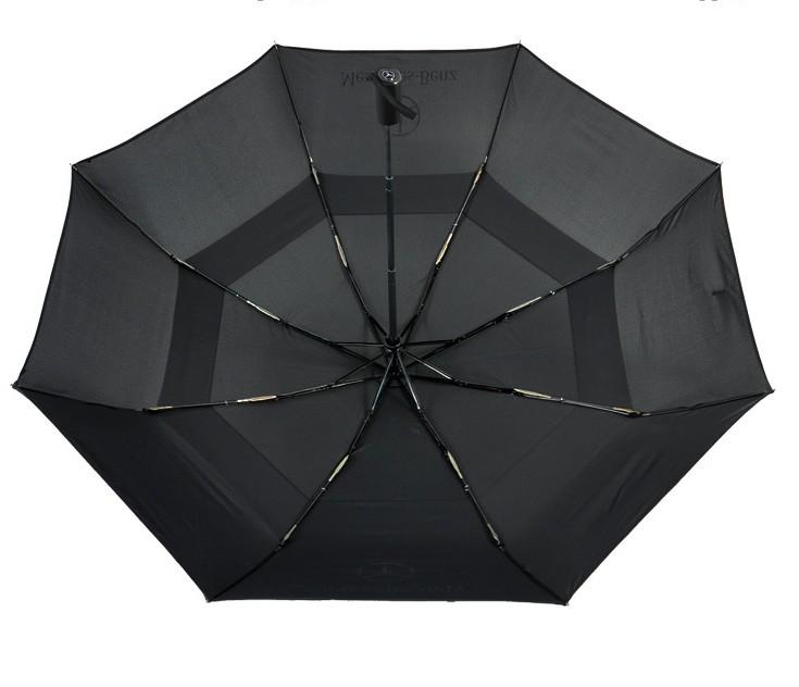Fiberglass Steel Vented Windproof Umbrella