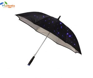 LED Light Rain Umbrella