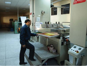 digital printing worker
