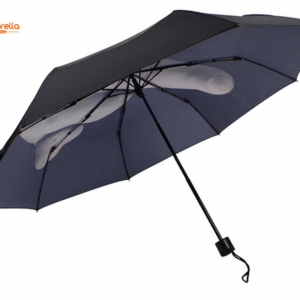 Custom Printed Fashion Design Middle Finger Umbrella