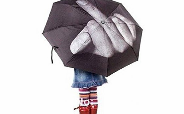 Middle Finger Fashion Umbrella 2