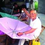 Umbrella Canopy Sewing