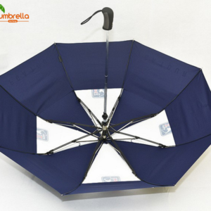 AUTOMATIC DOUBLE CANOPY GOLF UMBRELLA