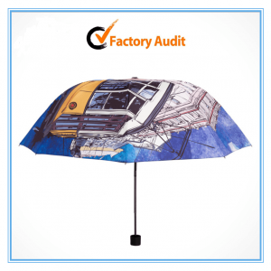 Custom Print Fold Umbrella