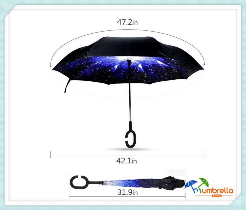 Upside-rain-protection-car-reverse-umbrellas