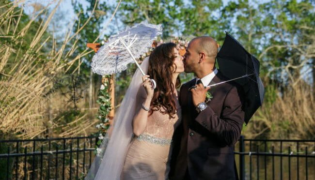 Cheap wedding umbrellas