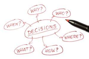 make a decision