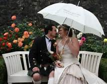 Custom Wedding umbrella