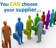 Choose supplier