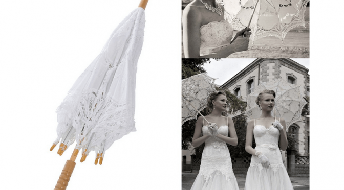 Wedding umbrellas