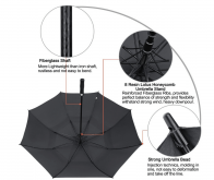 Large Golf Umbrella Printed with logo (2)