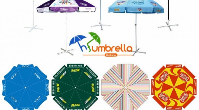 beach umbrella size