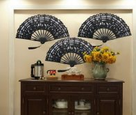 Lace Fans Decoration