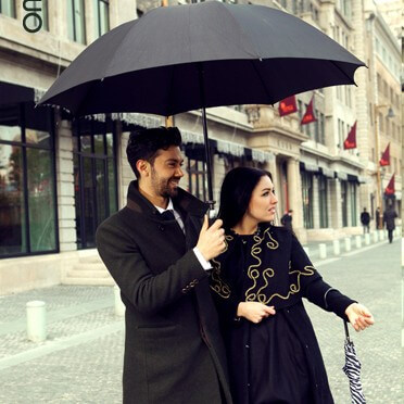 Pongee-umbrella