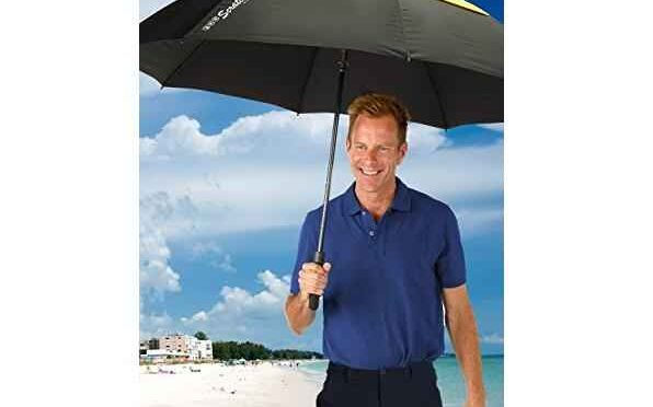 Windproof Lightweight Double Vented Sports Golf Umbrella