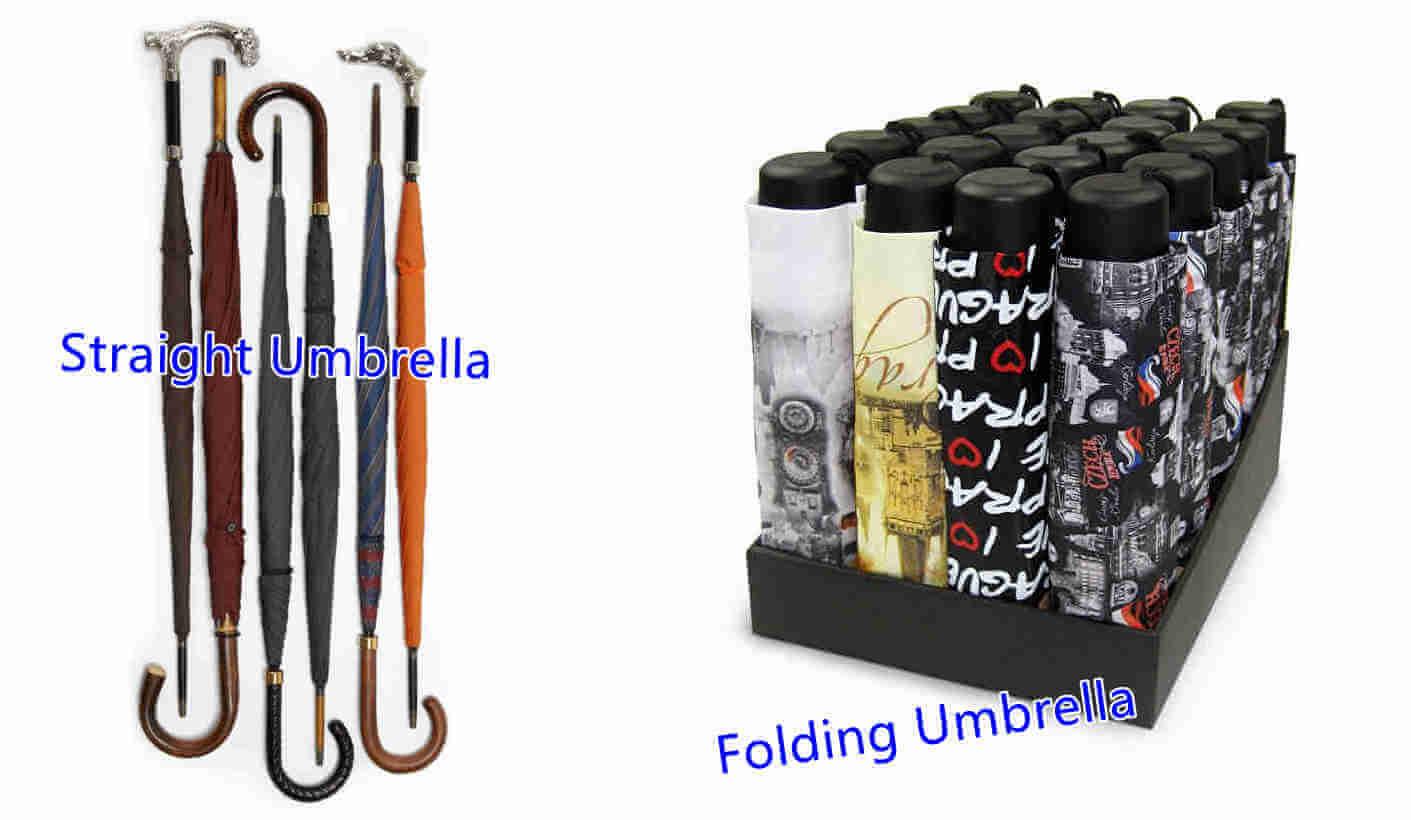 Umbrella types