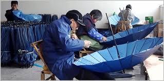 China umbrella industry