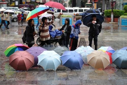 China umbrella market