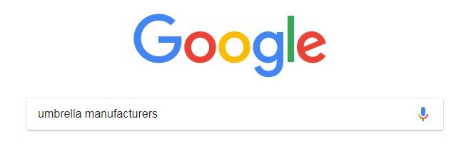google umbrella