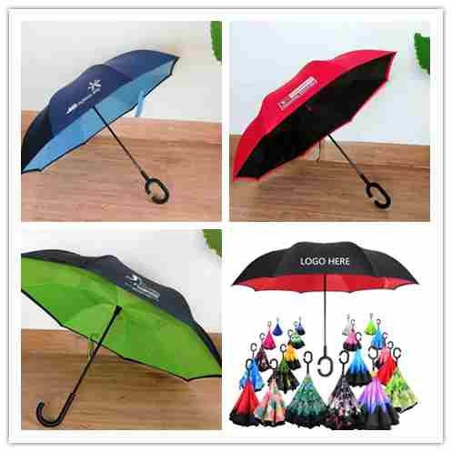 Custom reverse umbrella