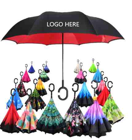 logo reverse umbrella