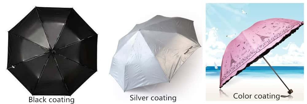Umbrella Fabric coating