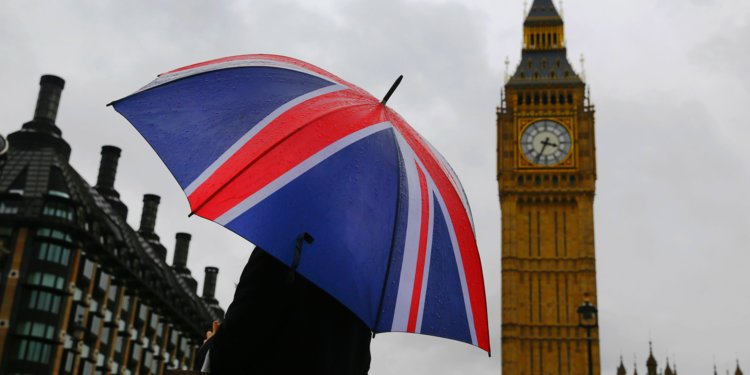uk flag umbrella