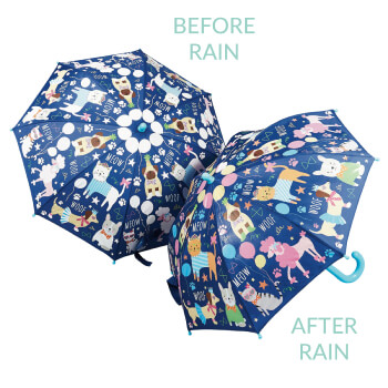 color changing kids umbrella