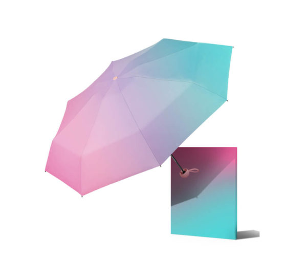 Best travel umbrella woman front