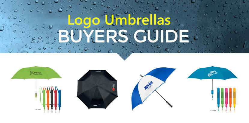 Logo umbrellas buying guide