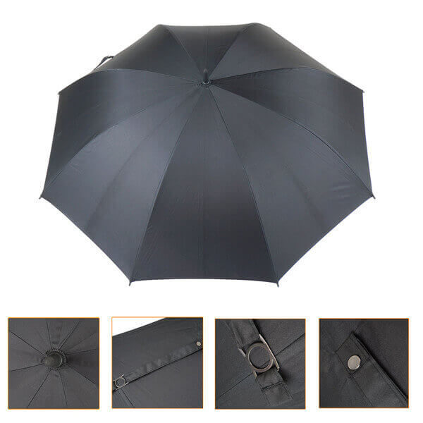 Automatic large canopy golf umbrella